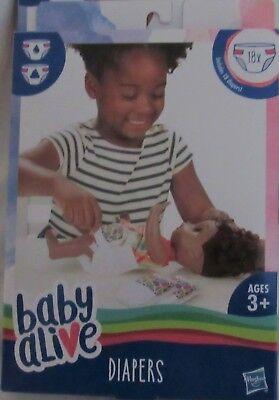 NEW Baby Alive Disposable Diapers Replacement Refill Box of 18 comprar usado  Enviando para Brazil