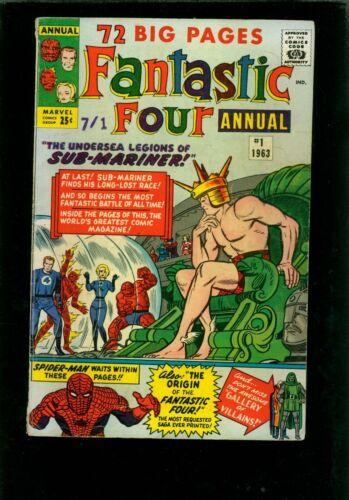 Fantastic Four Annual 1 VG 4.0