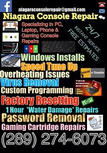 Niagara Console Repair Android & Apple Specialists