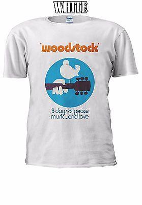 Woodstock 3 Days of Peace Music Love T-shirt Vest Tank Top Men Women Unisex (Women Of Woodstock)