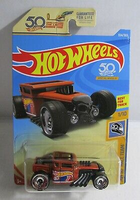 Hot Wheels 2018 50th race Team 1/10 Bone Shaker RED (334/365)