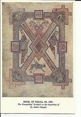 Book of Kells , fol 290v  Trinity College , Dublin