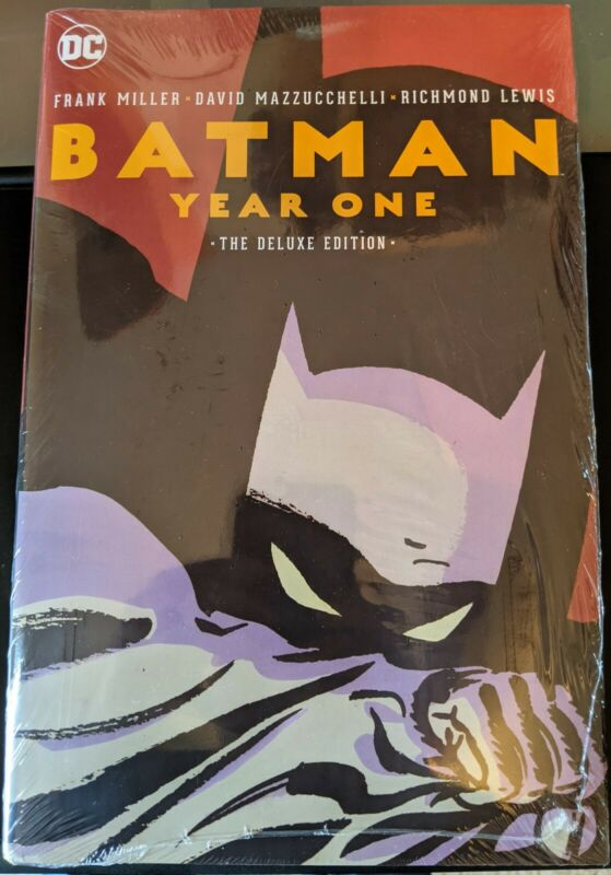 Batman Year One Deluxe Edition-Hardcover-Brand New-Factory Sealed-Frank Miller