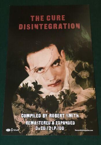 THE CURE Disintegration Rhino Elektra Promo Poster 2010 Robert Smith 11x17