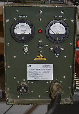 MILITARY POWER SUPPLY PP-8474/G 24 18-30 VOLT DC 60 AMP SINCGARS RADIO