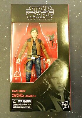 2018 Star Wars Black Series 6 inch #62 Han Solo A Solo Story In hand