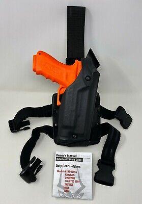 Safariland 6004 Sls Tactical Leg Rh Holster Stx Black Glock 17 22 W Surefire
