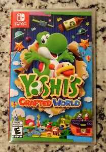New Sealed Yoshi's Crafted World $70 FIRM