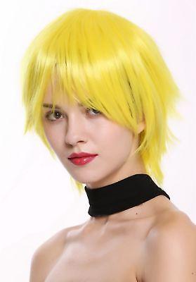 - Kurze Perücke Gelb