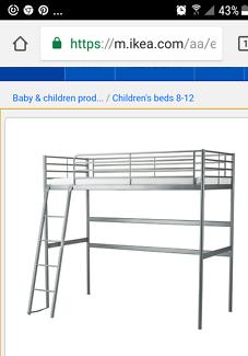Loft Bed. White