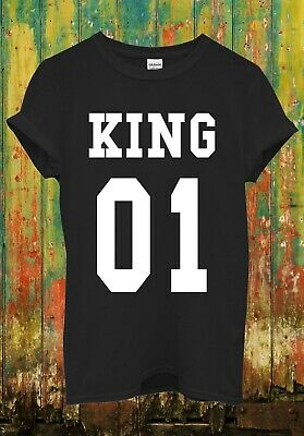 King Or Queen His And Hers Valentine Funny Men Women Top Unisex T Shirt 1530
