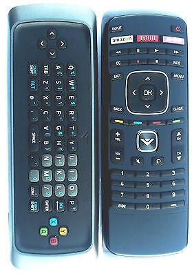 New Vizio XRT302 Qwerty keyboard Remote M650VSE M550VSE M470VSE VIA Internet TV