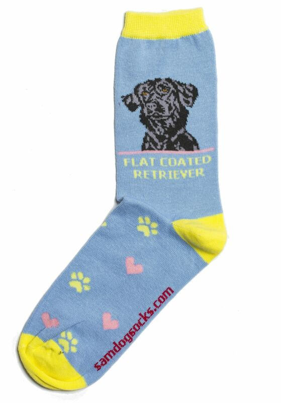 Flat Coated Retriever Dog Socks
