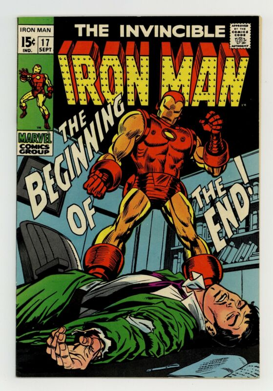 Iron Man #17 VF/NM 9.0 1969
