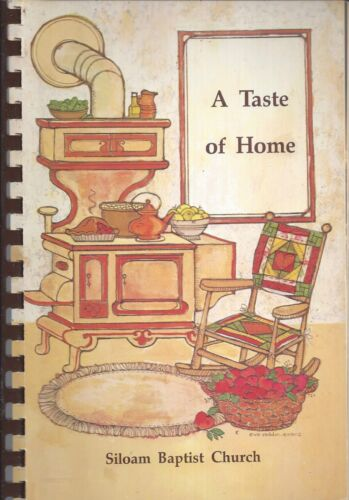 MEADVILLE MS 1988 SILOAM BAPTIST CHURCH COOK BOOK A TASTE OF HOME * MISSISSIPPI