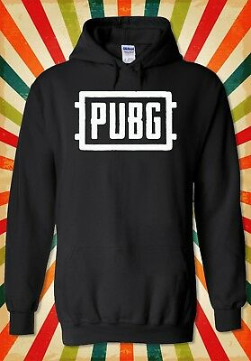 Logo Hoodie Top - PUBG Logo Multiplayer Battle Royal Men Women Unisex Top Hoodie Sweatshirt 2098