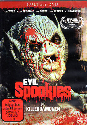 Evil Spookies , 100% uncut , new and sealed , Goblin , Twisted Souls - Halloween Spookies