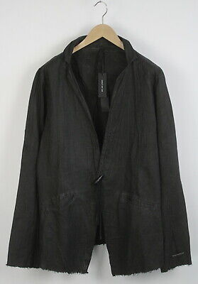 RRP€329 ARMY OF ME MEDIUM Crinkled Antra Linen Blend Texture Blazer Jacket 6192
