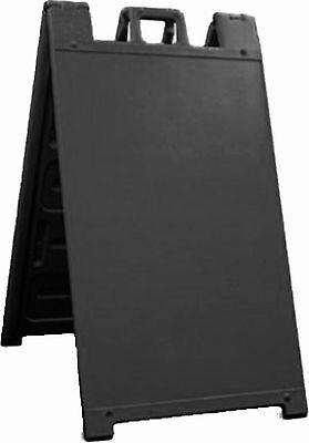 Best Seller 24 X 36 Standard Signicade Plastic Outdoor Aframe Curb Sign Black