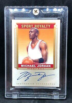 MICHAEL JORDAN UPPER DECK GOODWIN CHAMPIONS SPORT ROYALTY AUTO AUTOGRAPHED SP MJ