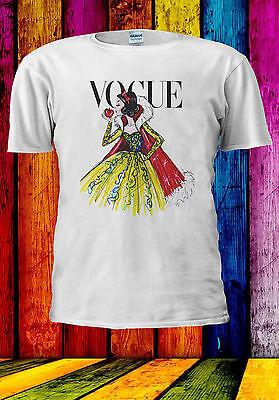 Disney Princess Snow White Vogue  T-shirt Vest Tank Top Men Women Unisex 517 ()