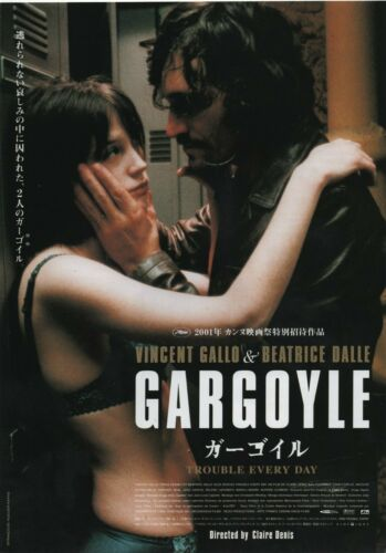 Trouble Every Day 2001 Vincent Gallo Chirashi Movie Flyer Poster B5 Japan