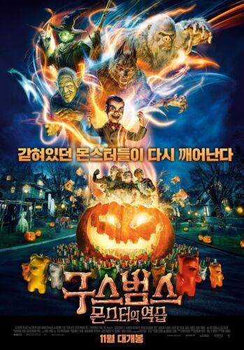 Goosebumps 2 Haunted Halloween 2018 Korean Mini Movie Posters Movie Flyers