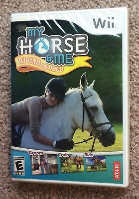 My Horse & Me: Riding for Gold (Nintendo Wii, 2009) Rare New Sealed