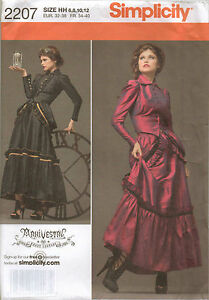 From UK Sewing Pattern Fancy Dress Steampunk Arkvestry Victorian 6-12 #2207