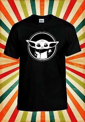 Baby Yoda Funny Star War Mandalorian Men Women Vest Tank Top Unisex T Shirt 2406