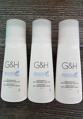 3 Amway G&H Protect + Deo Roll On Anti Transpirant
