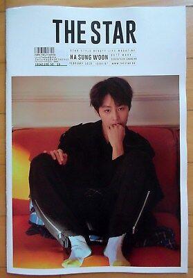6b1cd1f7036 GOT7 Hasungwoon SEVENTEEN The Star Korea(B) Whole Magazine February 2019