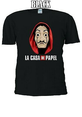 La Casa De Papel Money Heist Netflix Series Design Men Women T-shirt Unisex V64