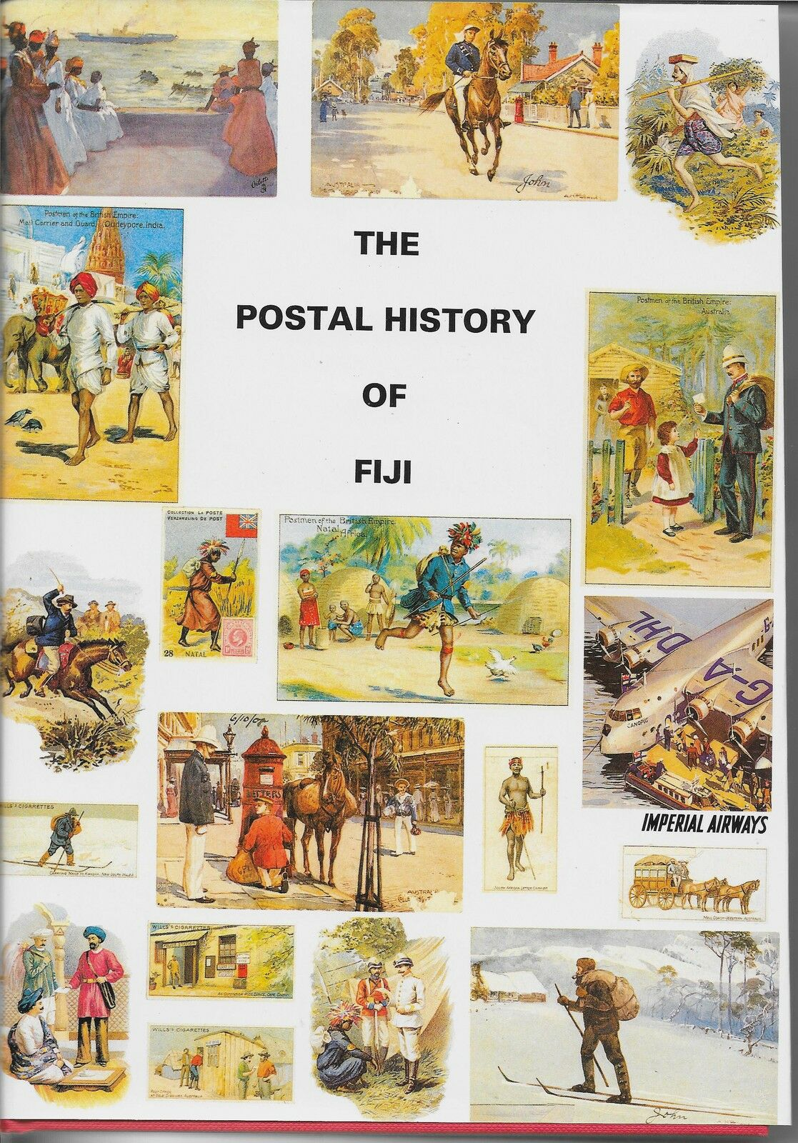 THE POSTAL HISTORY OF FIJI EDITTED BY E.B.PROUD