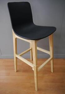 New Sally 740 Scandi Danish Natural Timber Stools Bar High Melbourne CBD Melbourne City Preview