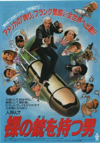 The Naked Gun 1988 David Zucker Japanese Chirashi Movie Flyer Poster B5