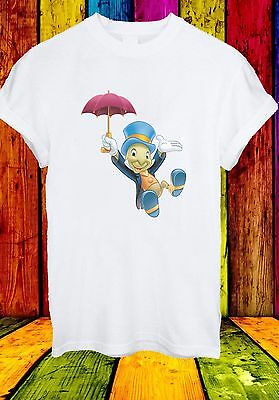 Disney Jiminy Cricket And Umbrella Pinocchio Men Women Unise