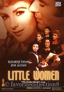 Little Women (1949) - Elizabeth Taylor, Peter Lawford, Margaret O'Brien- DVD NEW