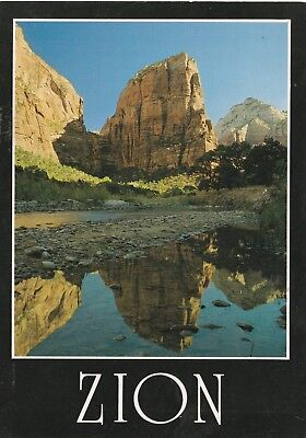 Virgin River Zion National Park (*Utah Postcard-