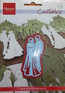 MARIANNE CREATABLES TINY'S WEDDING DIE CUTTER, COUPLE, BRIDE AND GROOM 427