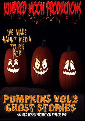 Ghost Storys Pumpkins Halloween Projection Effects DVD Halloween props - Halloween Ghost Projection Dvd