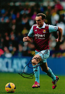 Mark-Noble-Genuine-Hand-Signed-12x8-Photo-West-Ham-United-1892