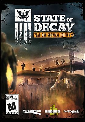 New - State of Decay: Year-One Survival Edition - PC Zombie Game