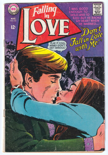 FALLING IN LOVE 93 (1967 DC) Rosenberger c/a; VG- 3.5