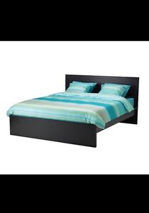 Black Ikea (Double) bed