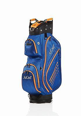 JuCad Bag Sportlight - Farbe: blau-orange - sportlich und superleicht, Neuheit! (Blau Und Orange Golf-bag)