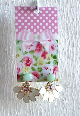 100 Boutique Earring Display Fashion Jewelry Cute Pink Bow Rack Hang Display