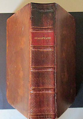 1813 The Plays of William Shakespeare. Complete in One Volume. Leather RARE!