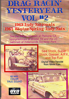 1963 / 1965 DRAG RACING ~ BRISTOL, TN / POMONA / INDY ~ SUPER STOCK A/FX GASSER on Rummage