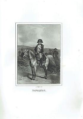Napoleon Bonaparte - Incision Original 1800 Napoleon